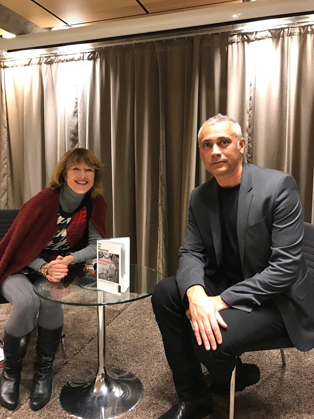 Ivo de Figueiredo ble intervjuet av Kristin Aalen i to arrangementer på Sølvberget 10. november 2016.