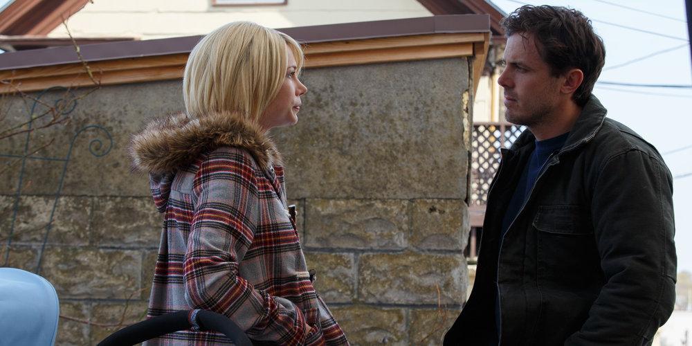 Et siste møte mellom Lee og ekskona Randi (Michelle Williams) er en rørende eksplosjon av undertrykt ærlighet.