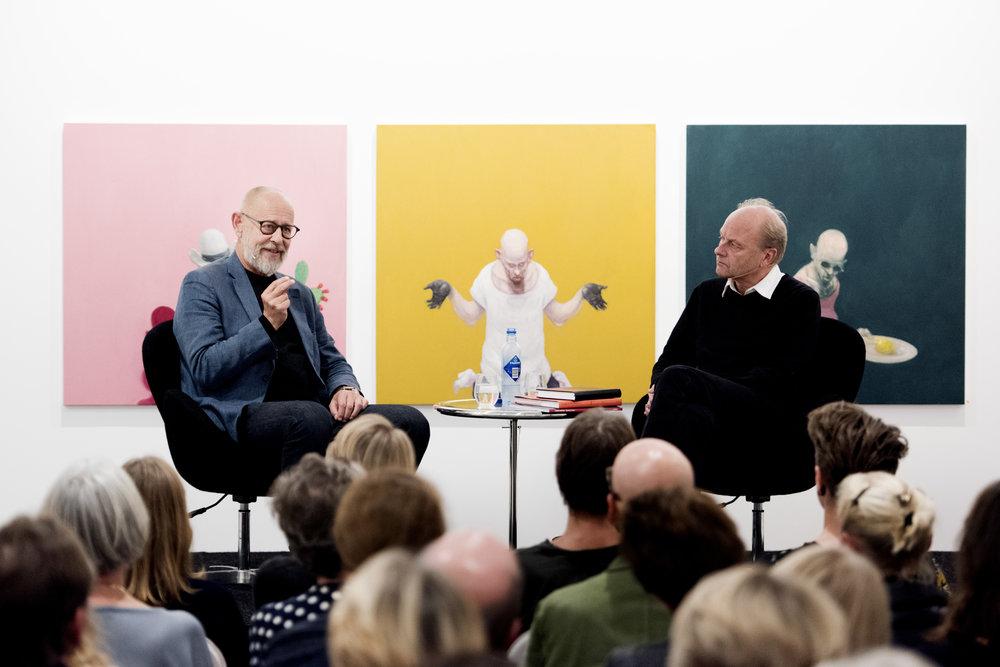 - Jeg tror kloden vil overleve, men ikke menneskeheten. Vi har aldri vært mer klar over hva vi skal gjøre for å handle rett, sier den danske kunstneren Michael Kvium.