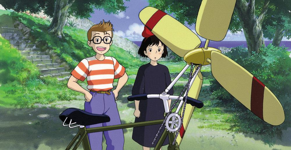 Tør Kiki satse på et vennskap med Tonbo, gutten som har så tøffe og skremmende venner?
