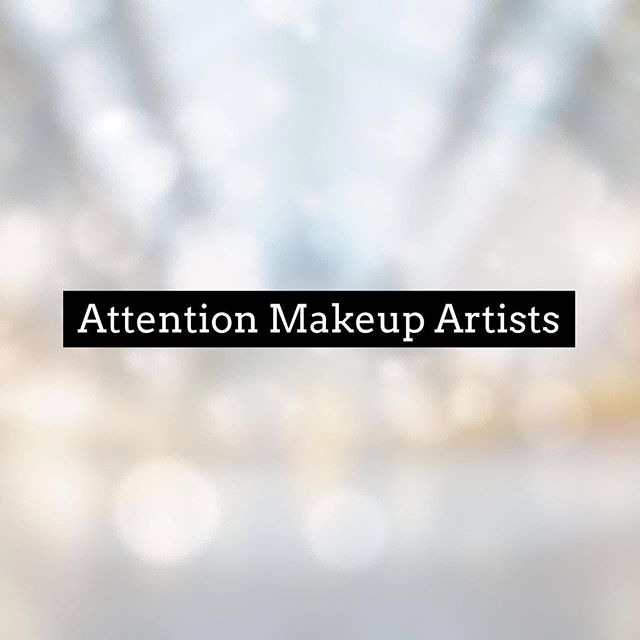 Looking for new makeup artists to work with! La Verne area. Weekdays. DM if interested!!!
