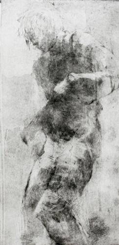 Tänzer, Radierung, 70x43
