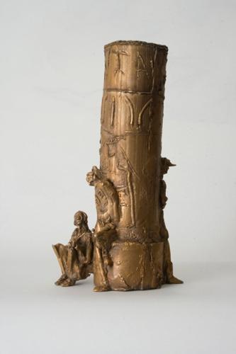 Säule, Bronze, 2010, 25 cm