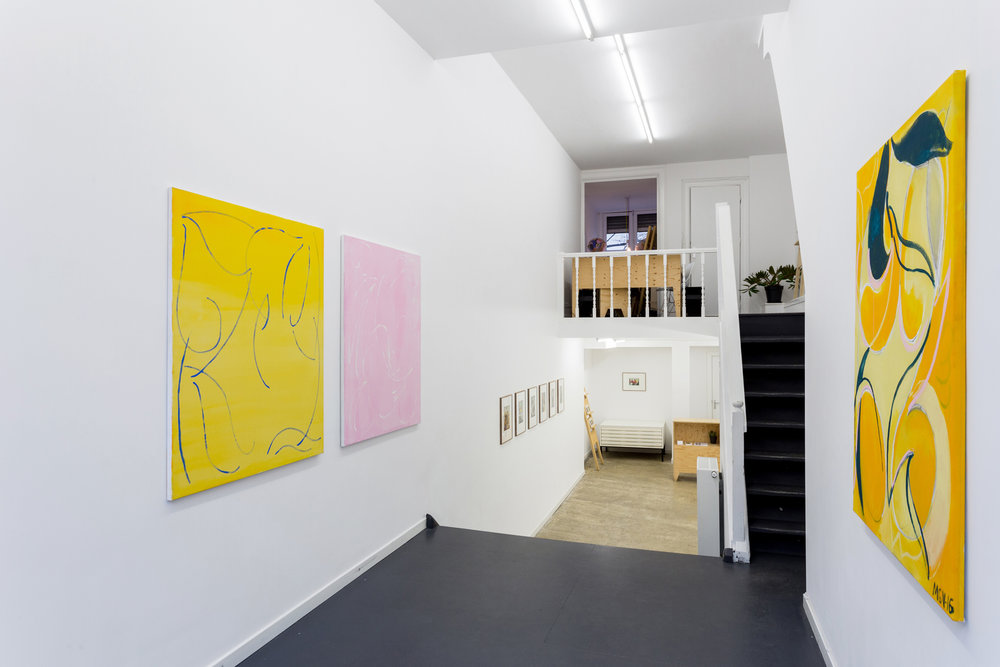 The solo exhibition Beyond, Within by Malin Gabriella Nordin. Photo: Wytske Averink
