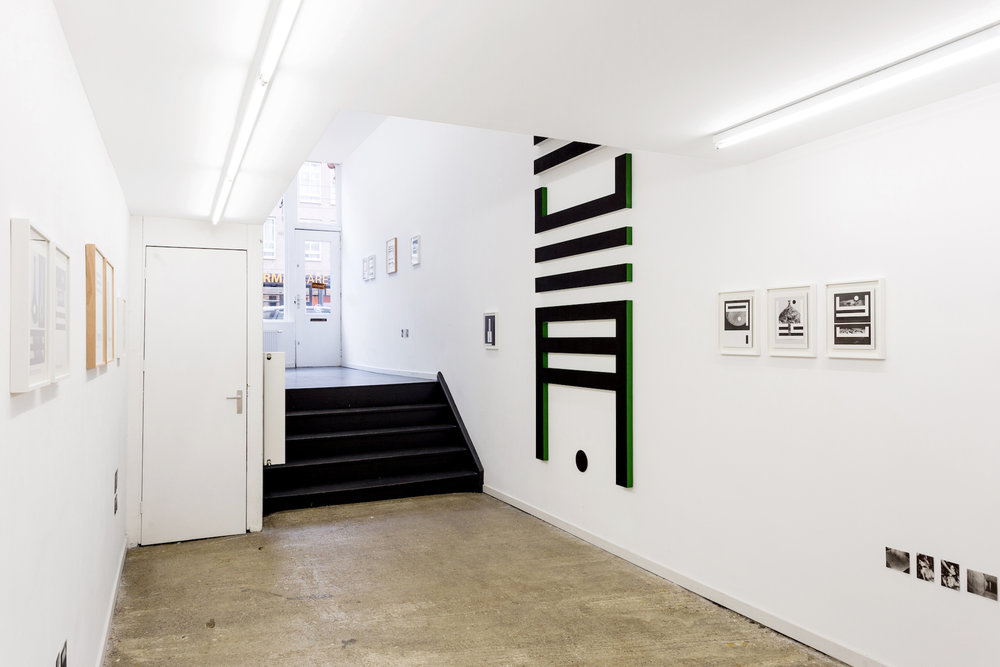 The solo exhibition Lood Stof by Louis Reith. Photo: Wytske Averink