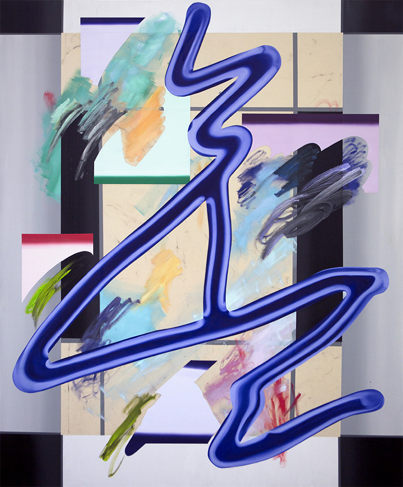 Anna Nero,Nightlife,180x150 cm, 2017