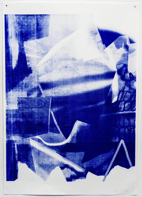Carolin Israel  Landrillo, 2018 Silkscreen on Paper Edition von 12 100 x 70 cm 380 EUR