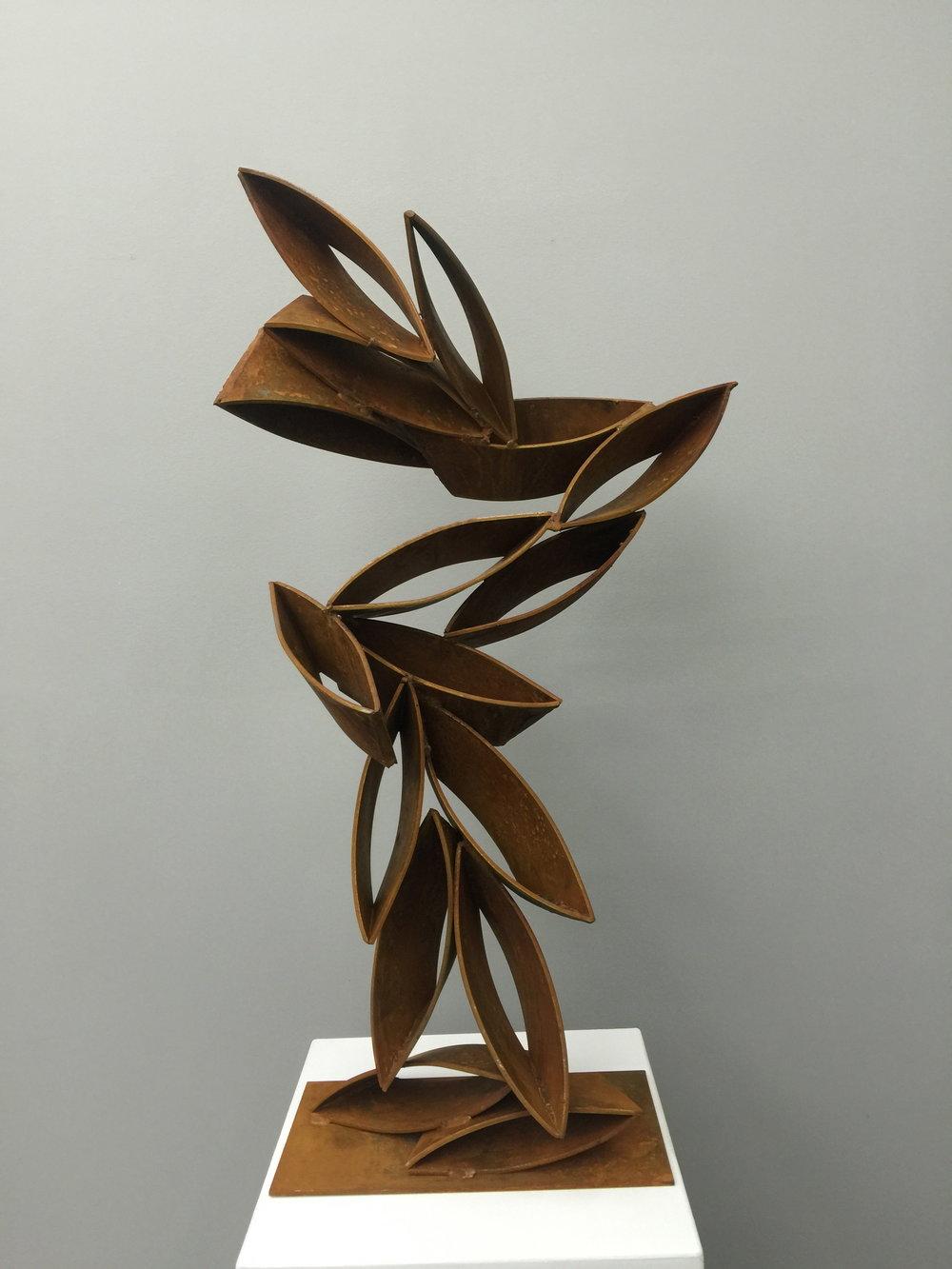 Peter Müller  Windows VII, 2016 Corten Steel 105 x 60 x 30 cm 8.300 EUR