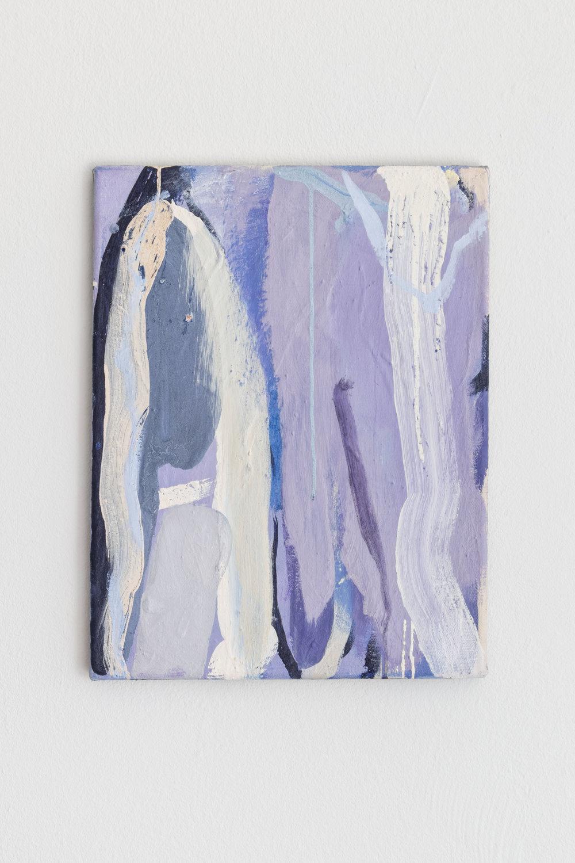Untitled, 2018 Tempera on Canvas 46 x 36 cm 1.370 EUR
