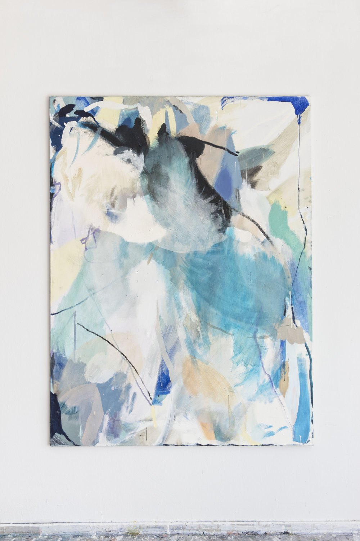 Untitled, 2018 Tempera on Canvas 200 x 145 cm 5.900 EUR