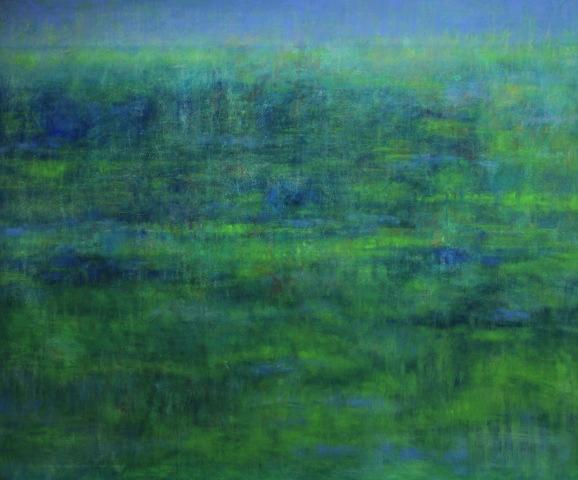 Ohne Titel, 2017 Öl auf Leinwand 100 x 120 cm