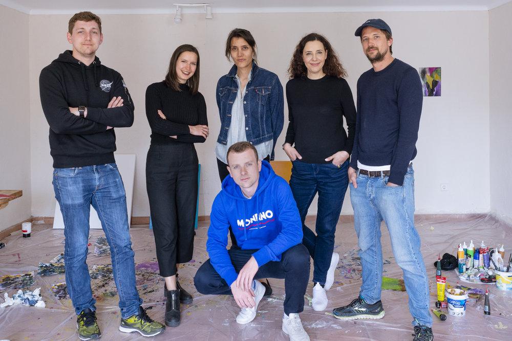 Bernhard Adams, Carolin Israel, Amparo Sard, Dr. Ruth Polleit Riechert, Wilhelm Beermann, Raphael Brunk