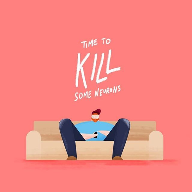 It's about that time . . . . . . . #neurons #couch #design #art #illustration #illustrator #vectorillustration #dude #drawing #doodle #digitalart #animation #mograph #motiondesign #motiongraphics #dribbble #cintiq #styleframe #conceptframe #creativestudio #psa #storytelling #filmmaking #comedy #funny #comic #cartoon