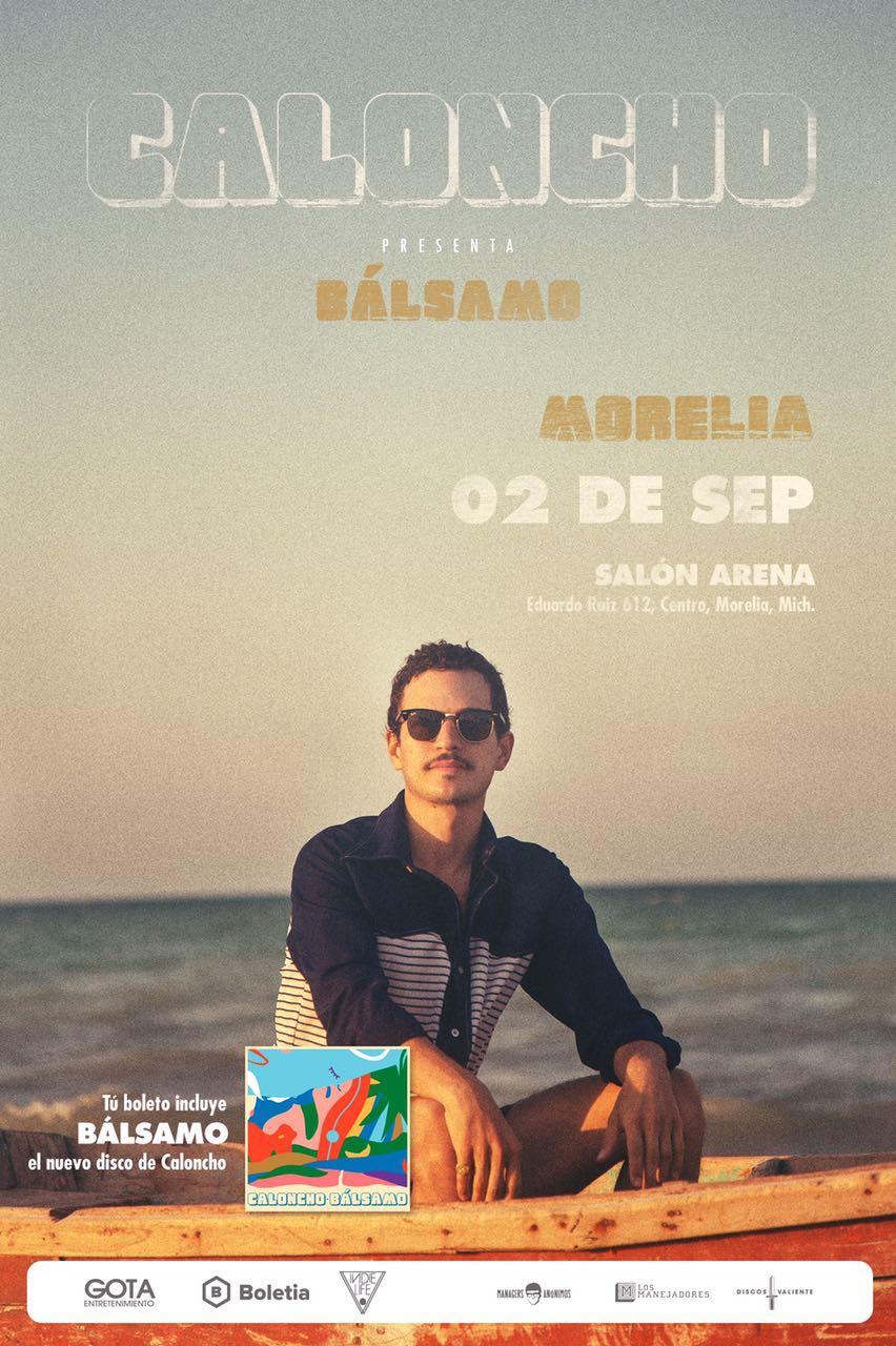 Caloncho - Tunacola en Morelia - 02 de Septiembre 2017