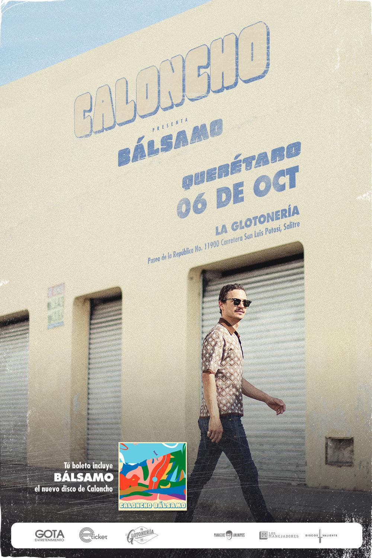 Caloncho - Daniela Spalla en Querétaro - 06 de Octubre 2017