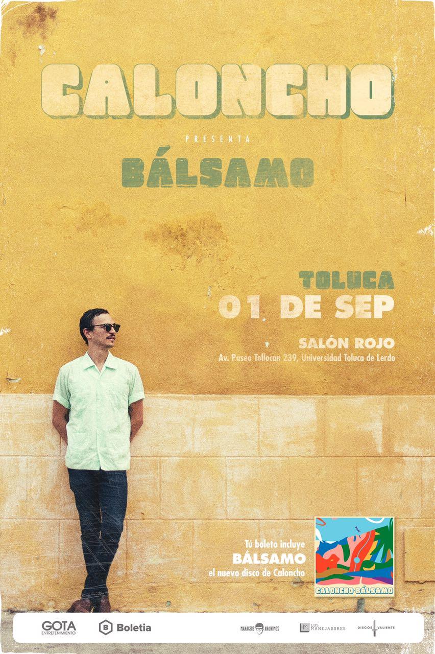 Caloncho - Tunacola en Toluca - 01 de Septiembre 2017