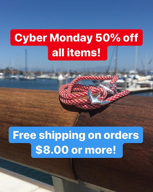 Only 4 hours left to take advantage of this great deal! Sale ends @ 11:59pm PST #notyouraverageknot #cybermonday