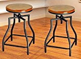 Adjustable bar stools