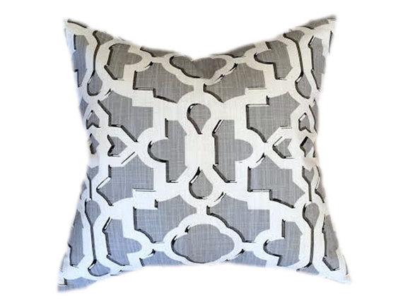 Geo Print Throw Pillow