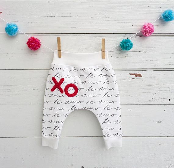 Baby Heart Pants