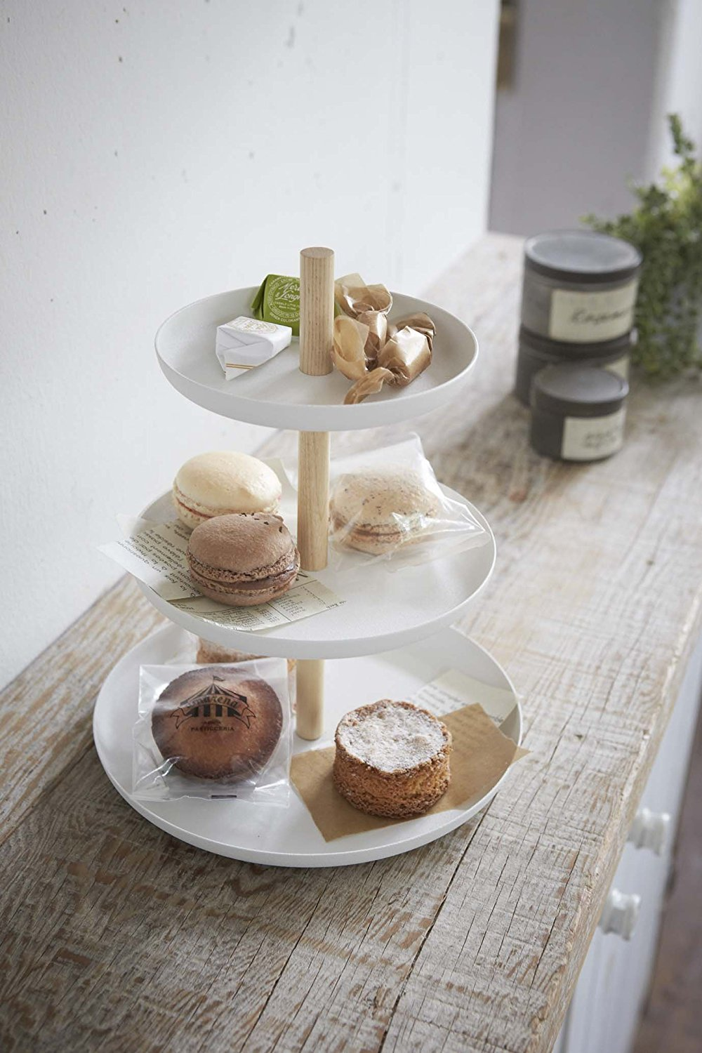 3 tiered cake plate