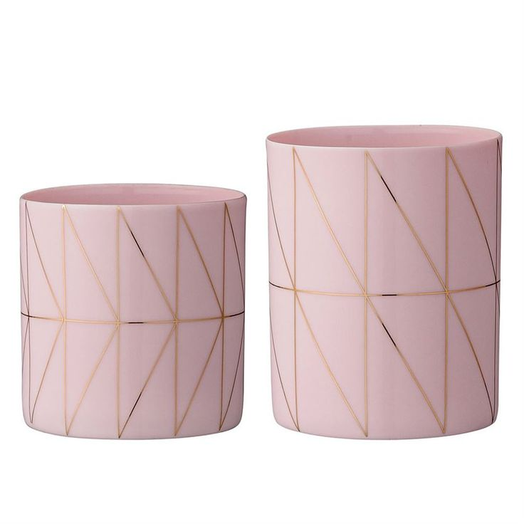 Pink Candle Holders