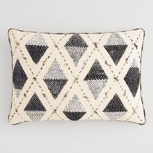 Cross Textured Pillow