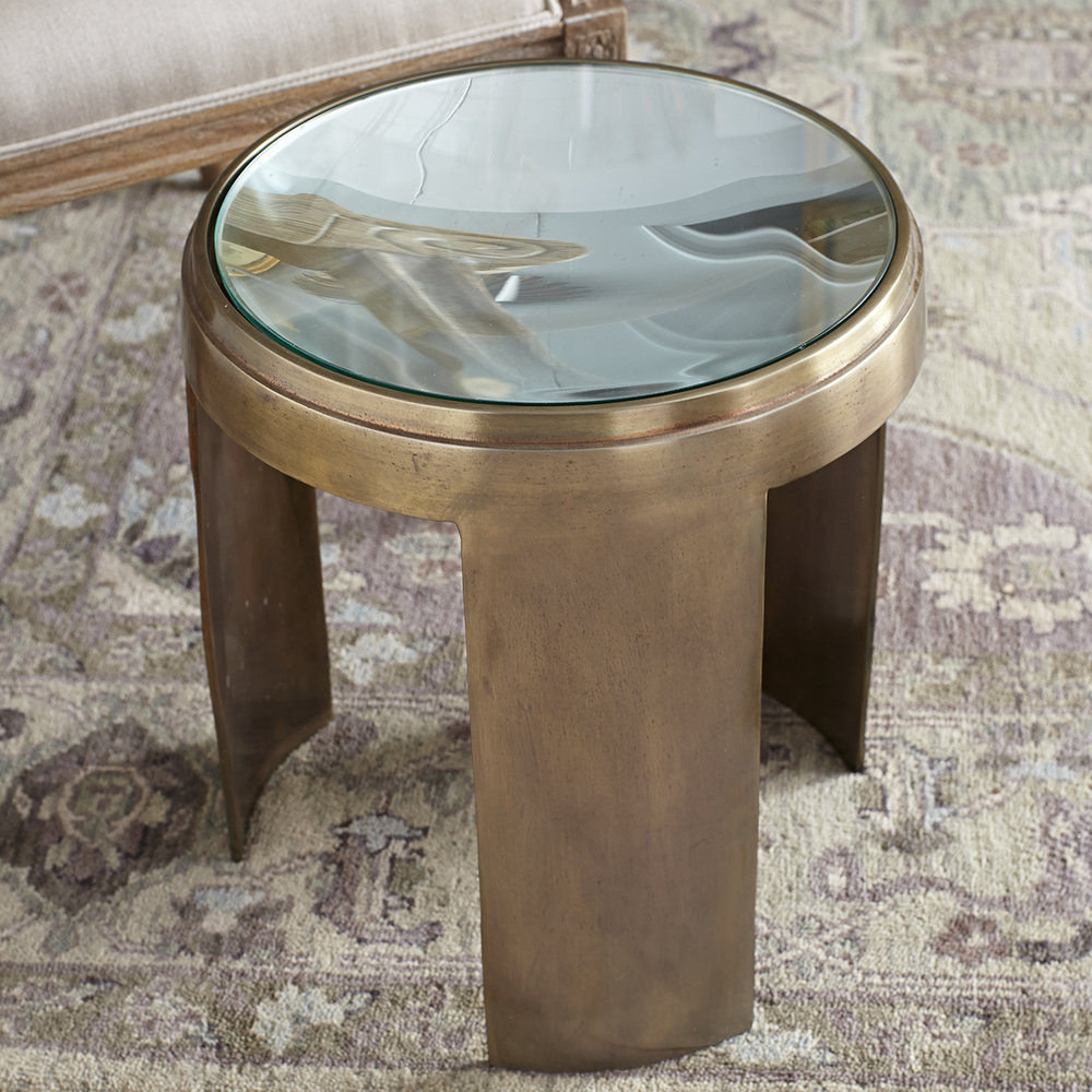 Side TAble gold