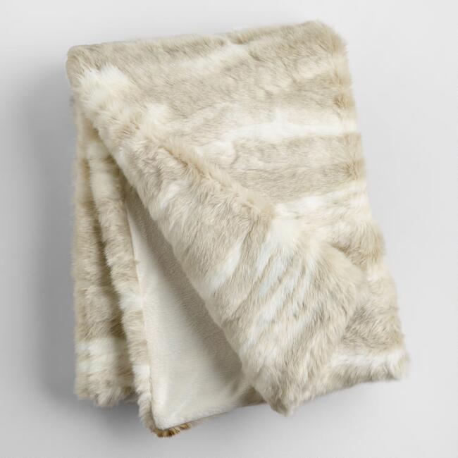 Fauz Fur Throw