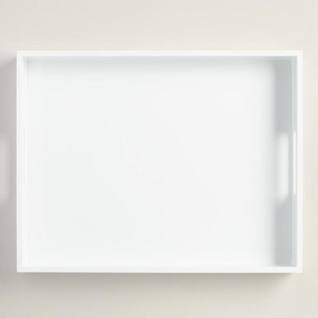 White Tray