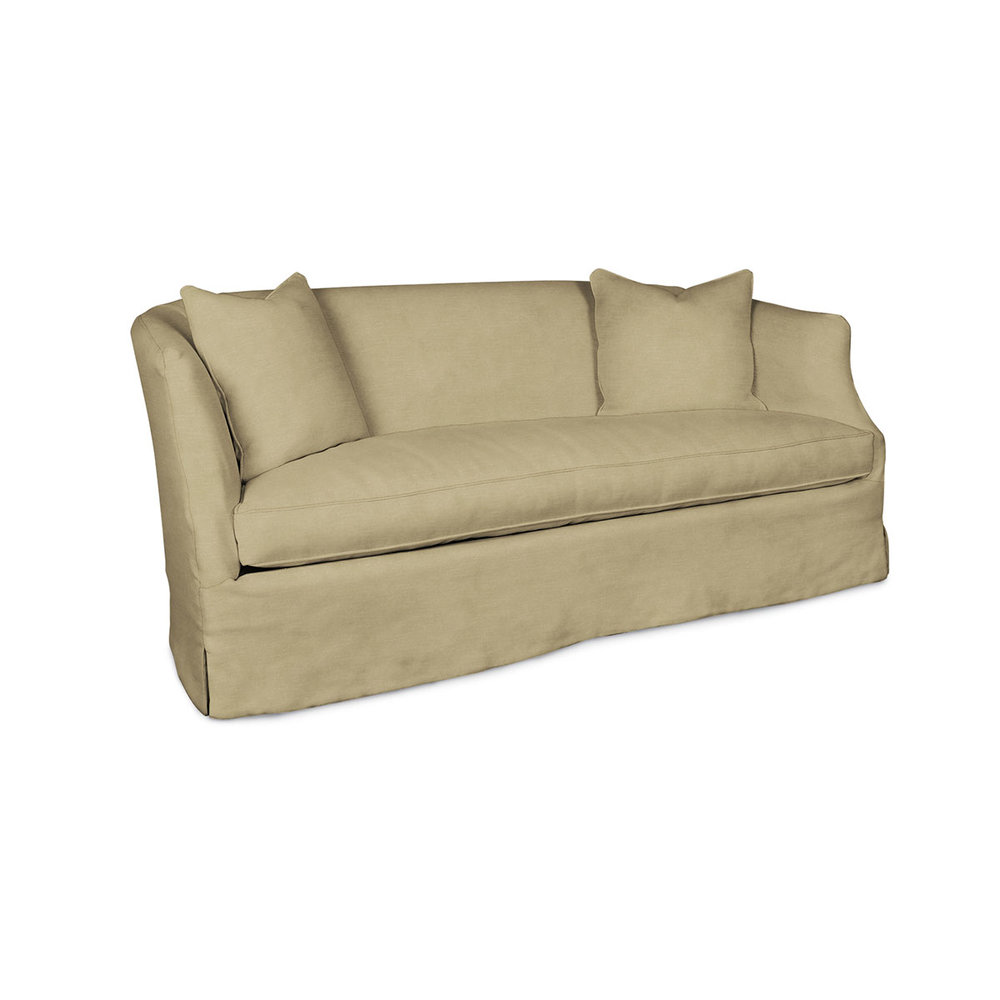 Rounded Sofa from Wisteria