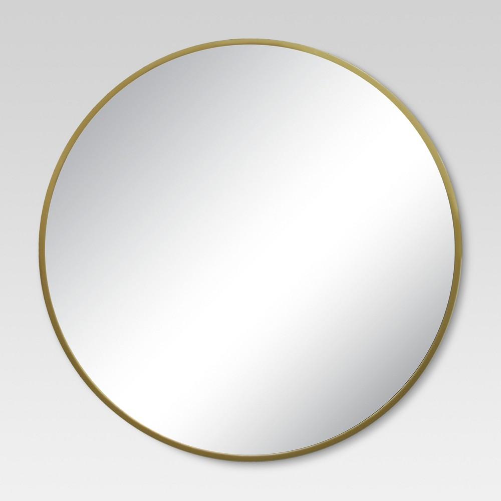 Target Brass Mirror