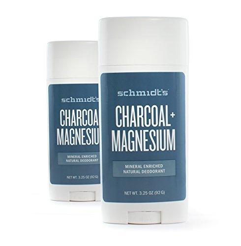 Charcoal deodorant