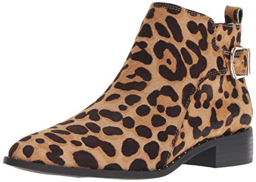 Leopard bootie