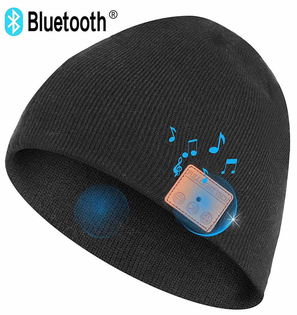 Blue Tooth Hat