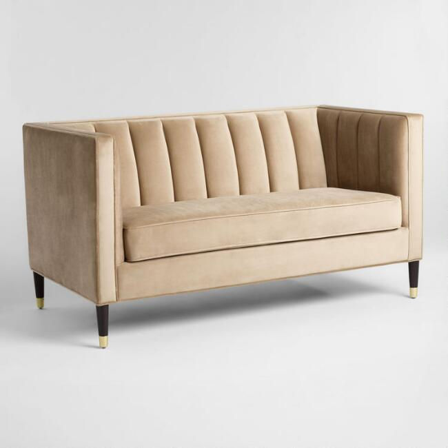 Tufted Love Seat