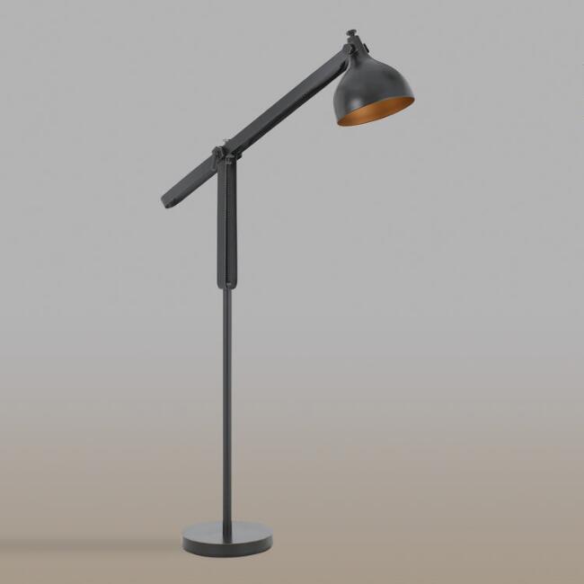 Black Metal floor Lamp