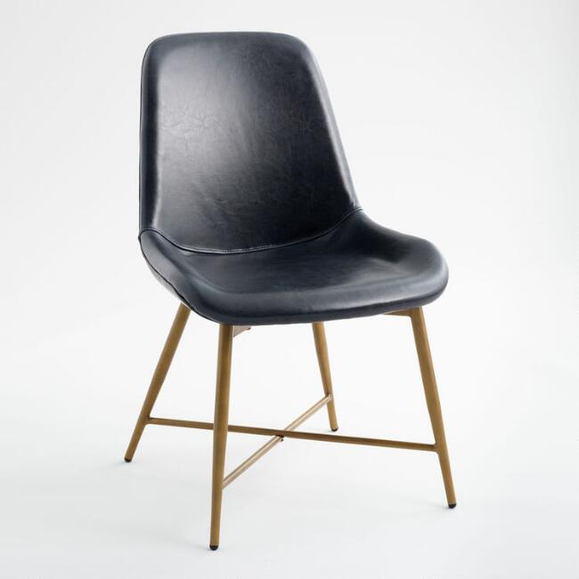 Black Molded Chair