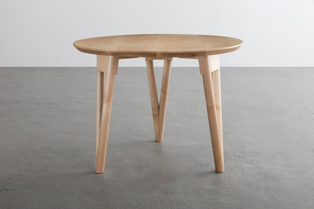 Hair Pin End Table by David Gaynor Design