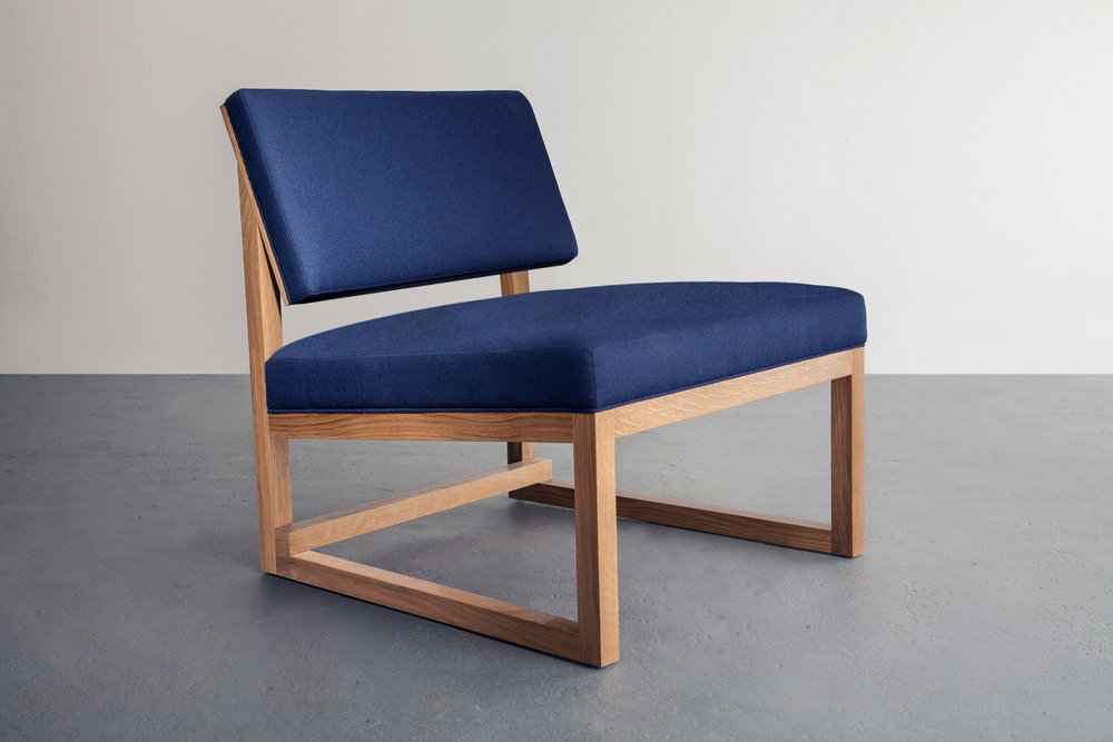 SQ3 Lounge Chair by David Gaynor Design