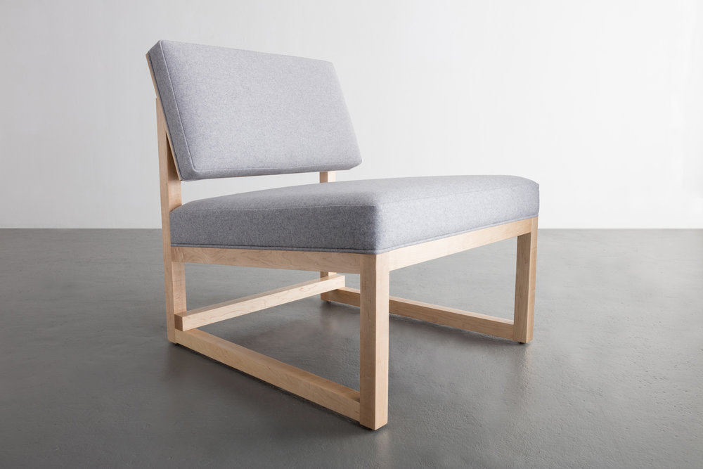 SQ Lounge Chair by David Gaynor Design