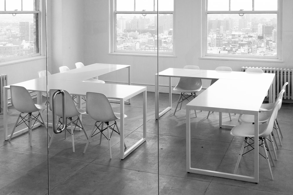 Slim Line Tables for Artsy