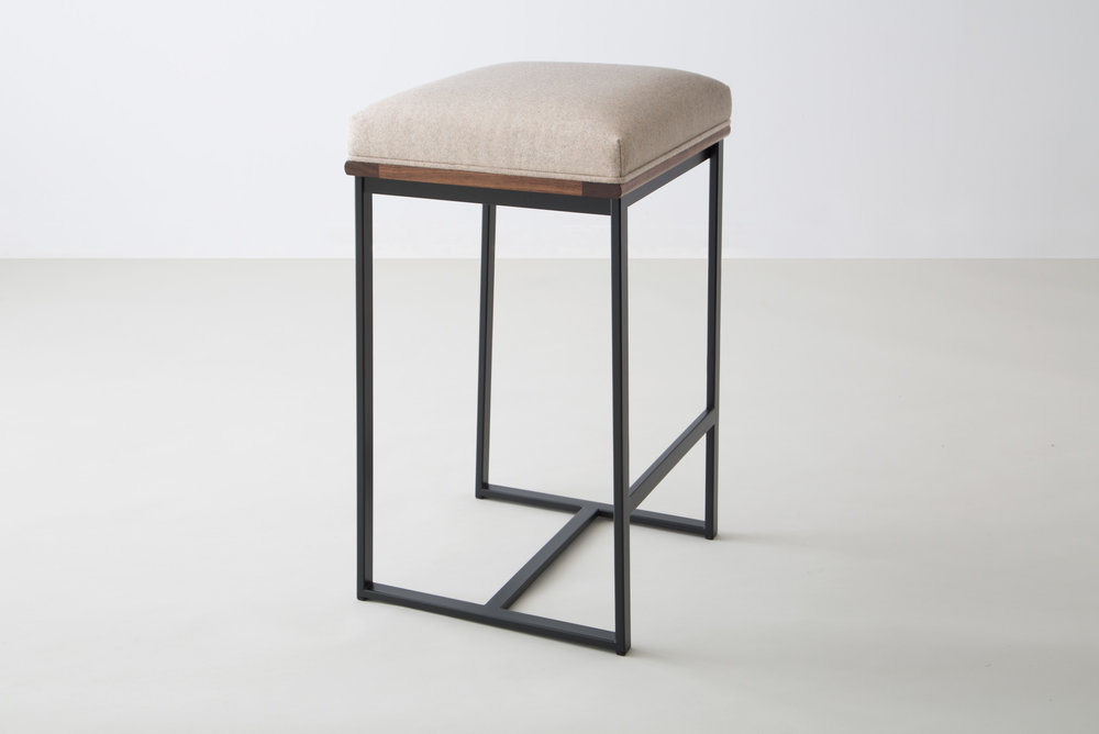 DGD Backless Counter Stool by David Gaynor Design