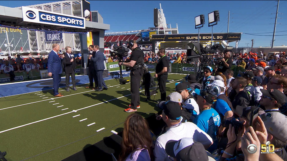 Superbowl 50 on CBS