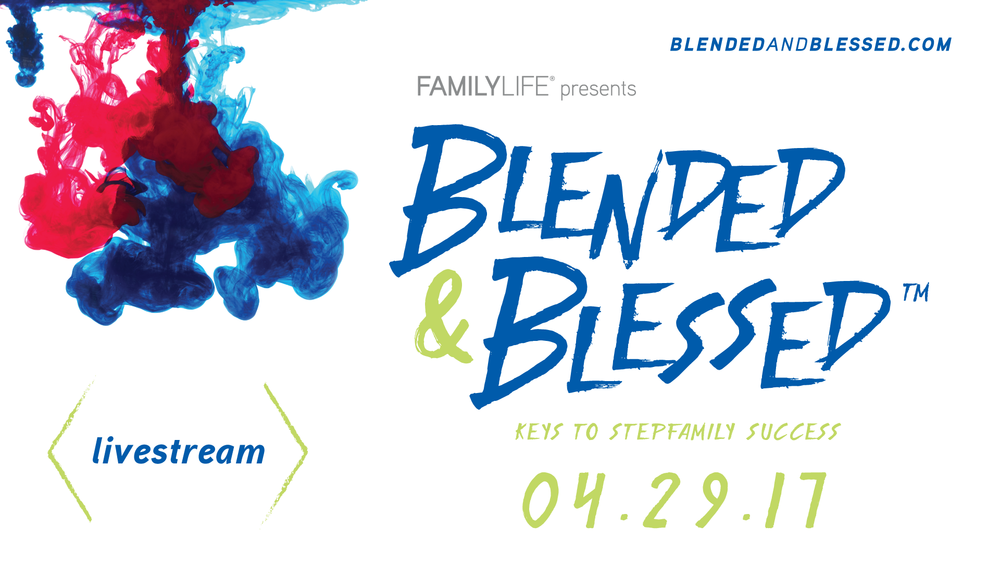 Get your tickets at blendedandblessedcom