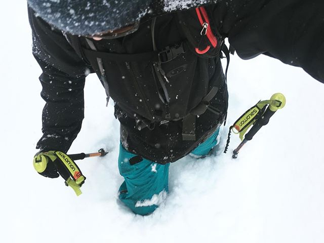 50 cm de #neige + @lemassif fermé aujourd'hui = #sickday demain!!! #freeride #powder #charlevoix #estski #liguori #stayhumbleridebig