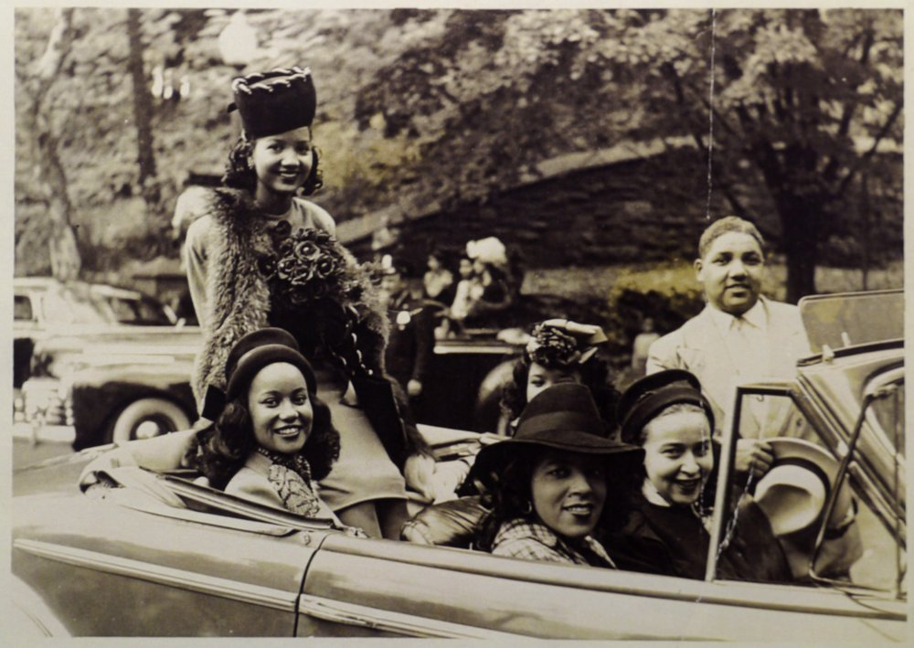 The famous Easter Parade on the Boardwalk was also a nonsegregated event. Sara Spencer Washington started the black Easter Parade on the Northside with floats and debutantes in their finery to rival that of the one across town.