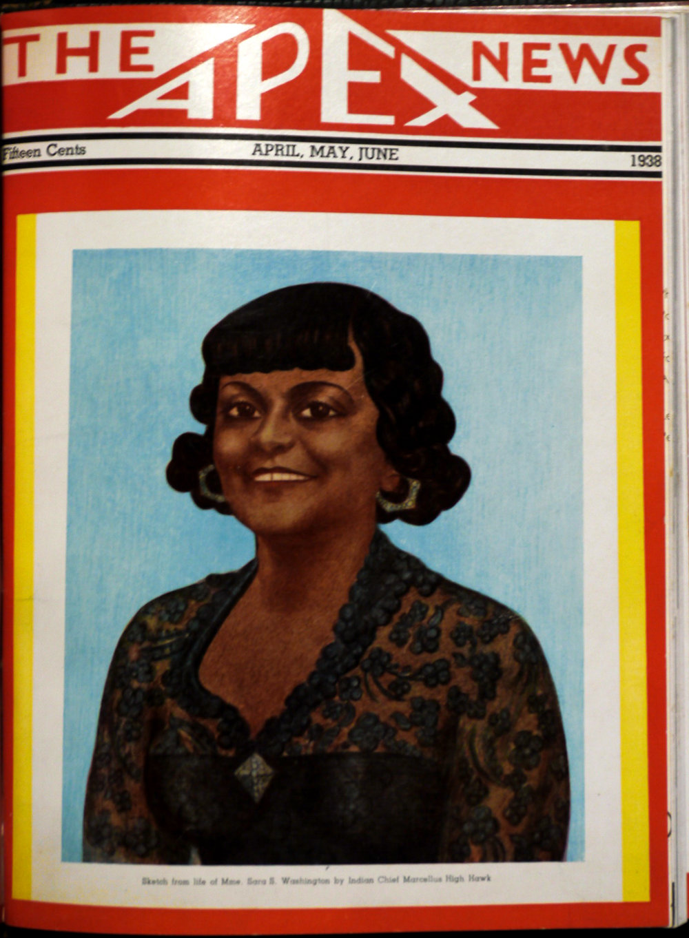 Mrs. Washington also founded the Apex News Company which printed a monthly trade publication from which one could purchase supplies for the salon or the home. It not only featured hairstyles, fashion, and makeup tips but the latest in interior design as well. News of graduates and their successes were interspersed with inspirational articles , cartoons and the obligatory letter from the editor.