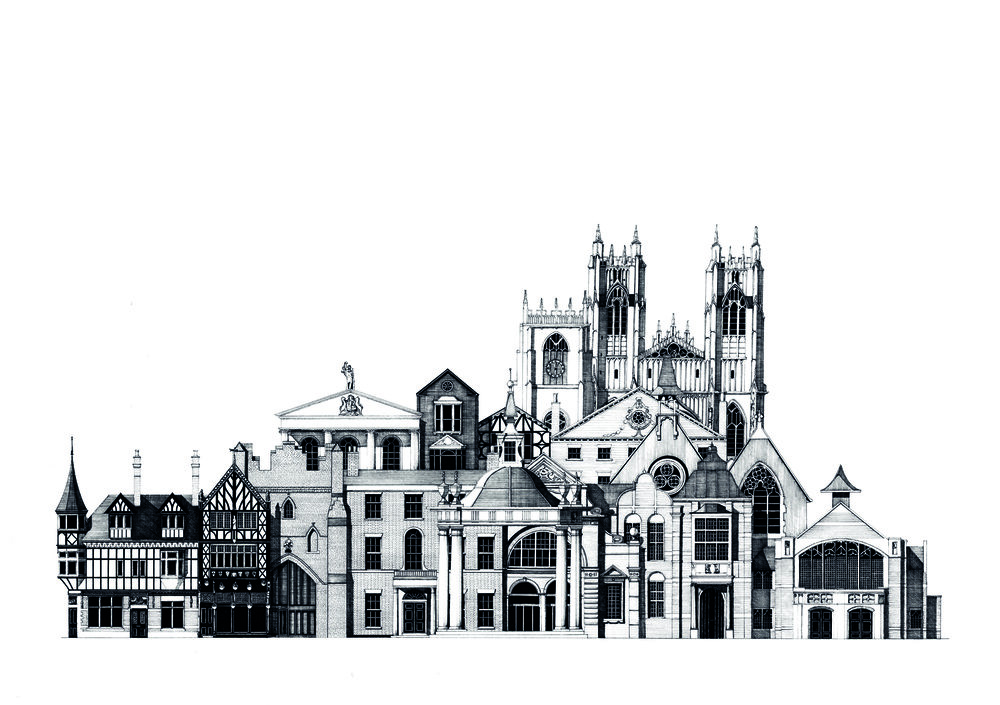 Beverley Architectural Panorama