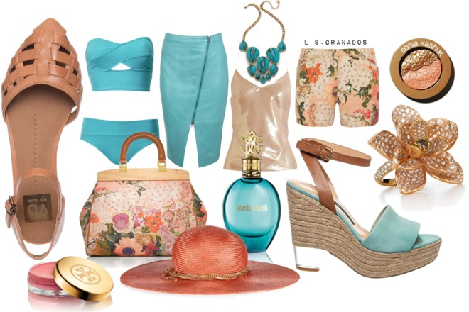 GETAWAY TRENDS 2014 | STYLING ANKLE STRAP SANDALS WITH PASTELS & METALLICS PT. 2